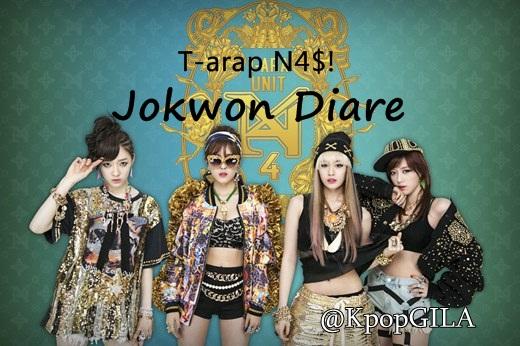 T-Ara-N4-Jeon-Won-Diary